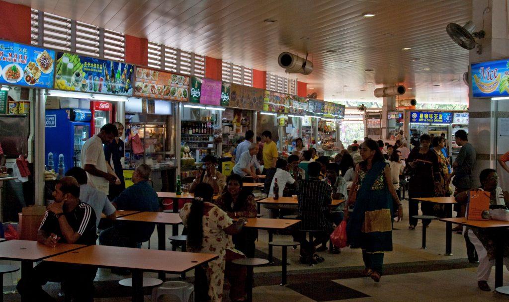 Singapore little India foods