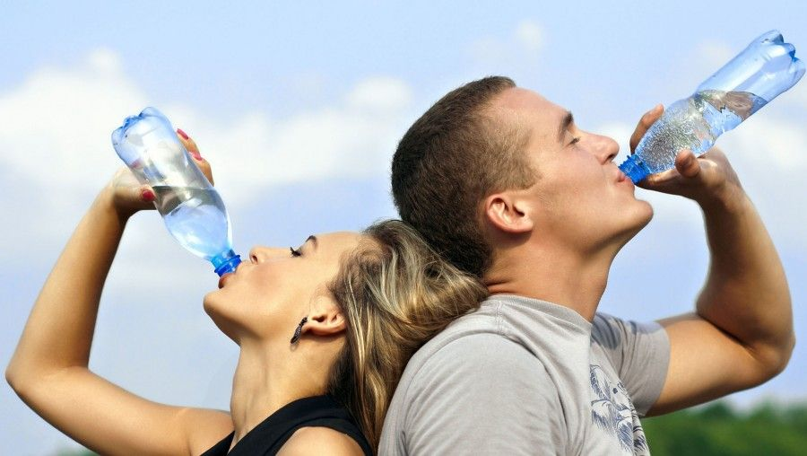 Drinking water - summer skin care tips