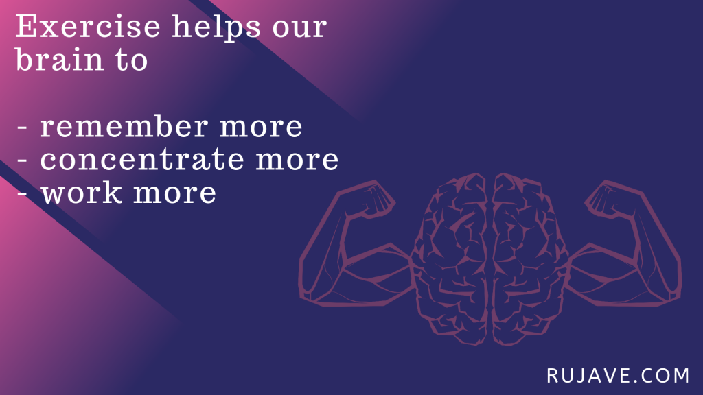 exercise improves memory and brain health