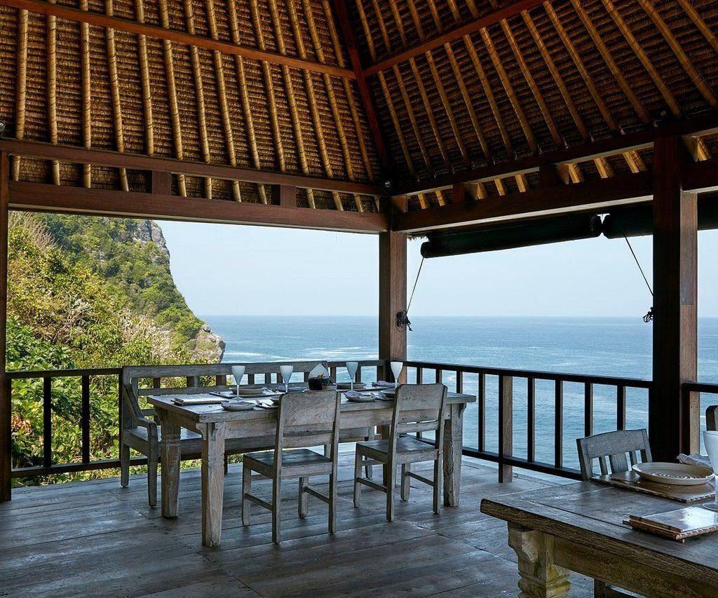 Bvlgari Resort restaurant