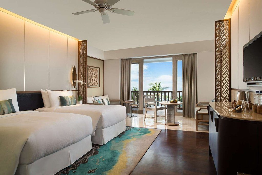 Conrad Bali room - luxury resorts in Bali
