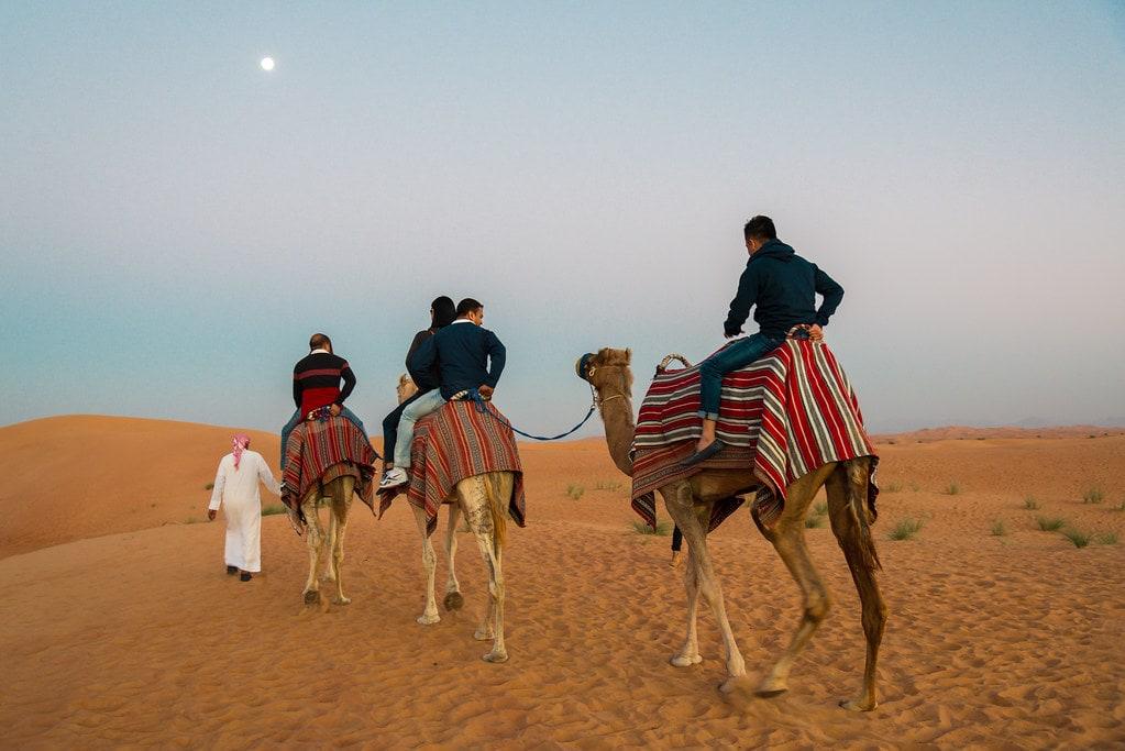 Desert Safari - places to visit in Dubai