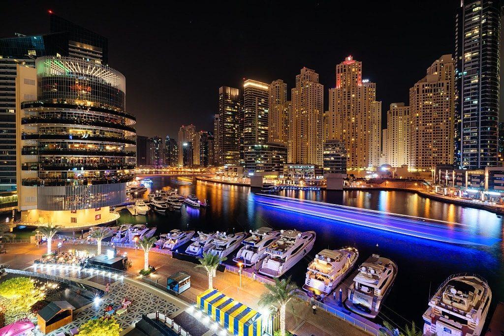 Dubai Marina, places to visit in Dubai