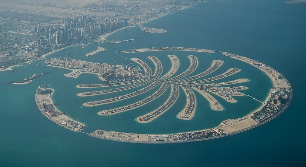 Palm islands - places to visit in Dubai