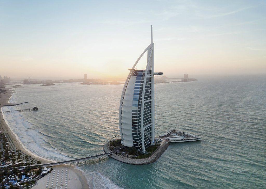 Burj Al Arab - luxury hotels in dubai