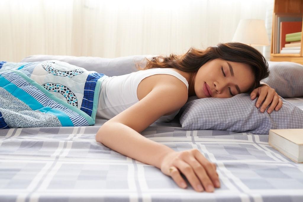 Sleeping wrong