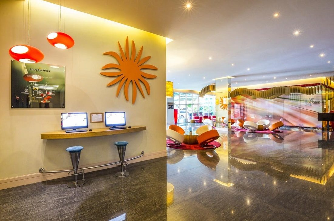 Ibis mall of emirates, affordable hotels in Dubai