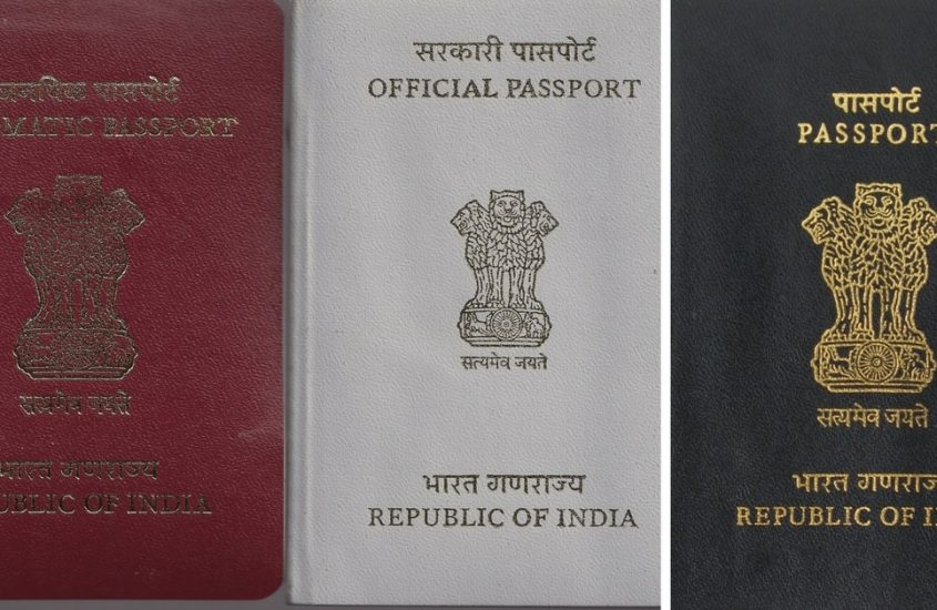 Different types of passport in India
